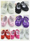 Fashion Style Rose Princess Cute Soft Baby Girls Shoes for 0--12 months