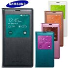 Genuine Official Samsung Galaxy S5 S-View Flip Cover Case