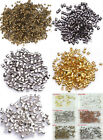 Jewelry Findings 2mm 1000pcs Tube Crimp End Spacer Beads 6 Color