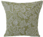 "1 CUSHION COVER-floral  POLLY col SAGE green 12"",14""16,18"",20"" 22"" 24"""