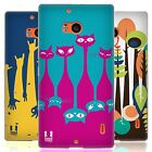 HEAD CASE UPSIDE DOWN SILICONE GEL CASE FOR NOKIA LUMIA 930
