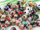 Wholesale 100Pcs Mixed Cloisonne Round Spacer Beads 6?8mm