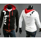 K5Y Mens Print Slim Fit Sexy Top Designed Hoodies Jackets Coats For Autumn Fall
