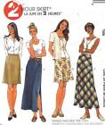 M-2029 Sewing Pattern Uncut Misses'  2 Hour Skirts 2 Lengths