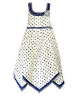 Girls Cotton Spot Dress Kids Party Sun Dresses New Age 2 3 4 5 6 7 8 9 10 Years