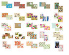 8 Greeting Cards Notelets Blank & envelopes many designs u choose free post UK