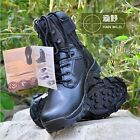 1Pair Outdoor Camping Hiking Tactical Desert Lightweight Combat Army Boots Shoes