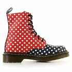 Dr.Martens Chay Navy Red Womens Boots - 15808110