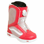 Vans Encore BOA Womens Snowboard Boots Red White