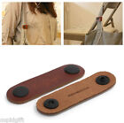 Leather Earphone Winder Headphone Cable Roll Up Pen Book USB Organizer Holder