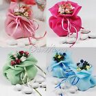 Soft Organza Fabric Candies Pouch Gift Bags Party Birthday Wedding Supply Favors