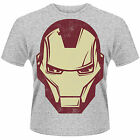 AVENGERS ASSEMBLE Iron Man Mask Marvel T-SHIRT NEU