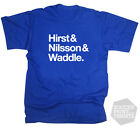 Sheffield Wednesday Football Legends Waddle, Nilsson & Hirst T-Shirt All Sizes