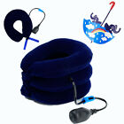 Hot Cervical Neck Air Traction Collar Relax Therapy Shoulder Head Back Pump AA