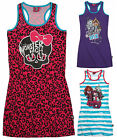 Girls Monster High Dress Kids Summer Sun Dresses Brand New Age 8 10 12 14 Years