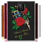 HEAD CASE ART MACHINE SILICONE GEL CASE FOR BLACKBERRY PASSPORT