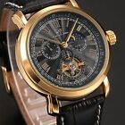 KS Mens 4 Colours Automatic Mechanical 24 Hours Small Second Hand Wrist Watch