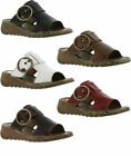 New Fly London Tute Womens Leather Sandals Ladies shoes Size UK 4-8