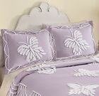 Collections Etc Lavender Chenille Butterfly Pillow Sham