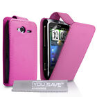 Best PU Leather Flip Mobile Case and Covers for HTC Wildfire S - Various Colours
