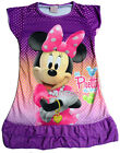 Minnie Mouse Girls Children Kids Pyjama Nightwear Nightie Dress 3-10 Year Purple