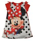 Minnie Mouse Girls Red Polka Dot Printed Night Gown Size 4 6 8 $36.00