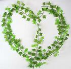2m 2.5m Artificial Ivy Leaf Garland Plants Fake Foliage Flowers Home Decoration