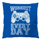Workout Gamer Kissen 28x28cm play sport station kontroller nintendo ps game fun