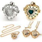 1PC Fashion Gold/White Gold Plated Heart Sweater Pendant Necklace Gift