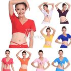 Lady Stylish Sexy Belly Dance TOP Yoga Costumes Choli Skirt Dancewear 10 Colors