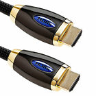 HDMI v1.4A PREMIUM GOLD PLATED CABLE HDTV 1080P 3D 4K ULTRA HD - 1M 2M 3M 5M