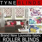 Louvolite LIBERTY ROLLER BLINDS - straight edge made to your exact size