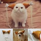 Turkey Chicken Drumstick Headband Dog Cat Headdress Funny Accessories Costumes