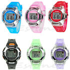 Waterproof Multifunction Electronic Sport Digital Wrist Watch For Child Girl Boy