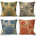 Riva Home Peacock Geometric Cushion Cover Available In 4 Colours