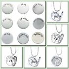 New Fashion Women for 30mm Glass Living Memory Floating Locket Charms Necklace