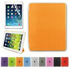 For iPad 4 3 2 PU Ultra Thin Magnetic Stand Smart Case Cover Back Case 9 Colors