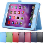 New Leather Flip Stand Pattern Flexible Smart Case Cover For iPad Air 2 3 4 Mini