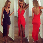 SUMMER CHEAP! Sexy Women Bandage Backless Maxi Dress Stretch Bodycon Party Dress