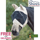 Shires Fly Mask with Ears, Nose and Nose Fringe (6653TH) **FREE UK DELIVERY**