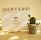 Cute Rabbit Scheduler Monthly Weekly Memo Note Planner Journal + Decor Sticker
