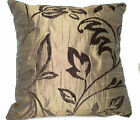 "1 CUSHION COVER-made in chenille bronze brown 12"",14""16,18"",20"" 22"" 24 XMAS"