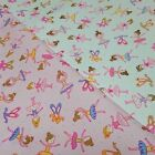 Dancing Ballerina Childrens Fabric 100% Cotton - Choice of Colours and Sizes