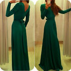 LA New Sexy Womens Prom Ball Cocktail Party Dress Ladies Formal Evening Gown S1M
