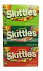 *SKITTLES^ Theater Box BITE SIZE CANDIES Flavored Candy Exp. 2016 *YOU CHOOSE*