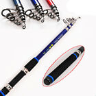 Carbon Telescopic Fishing Rod CASTING Rods Saltwater Sea Throw Pole Fishing Gear