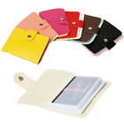 New Unisex PU Leather Pocket Pouch ID Credit Card Cash Holder  Purse 24 Cards