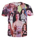 Kendall Jenner Collage All Over Print  Tops T-shirt # A012
