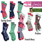 Joules Brilliant Bamboo Ladies Socks (3 Pack) (S) **BNWT** **FREE UK Shipping**