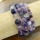 Wholesale Natural Gemstone Beads Stretch Bracelet Healing Reiki 4,6,8,10,12mmBracelets - 84606